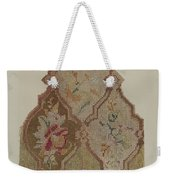 Embroidered Table Scarf Weekender Tote Bag