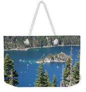Emerald Bay Weekender Tote Bag by Carol Groenen