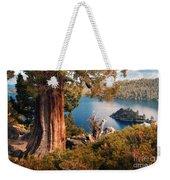 Emerald Bay Overlook Weekender Tote Bag
