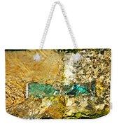 Emerald Bow Weekender Tote Bag
