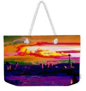 Emerald City Sunset Weekender Tote Bag