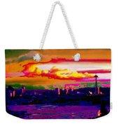 Emerald City Sunset Weekender Tote Bag