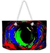 Emerald Eye Weekender Tote Bag