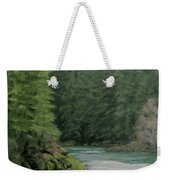 Emerald Forest Weekender Tote Bag