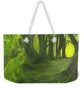 Emerald Forest Weekender Tote Bag