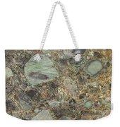 Emerald Green Granite Weekender Tote Bag