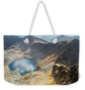 Emerald Lake Surrounded By Tatra Mountains, Poland Weekender Tote Bag