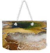 Emerald Pool - Yellowstone National Park Weekender Tote Bag