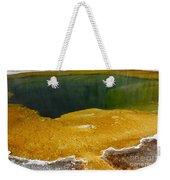 Emerald Pool Yellowstone National Park Weekender Tote Bag