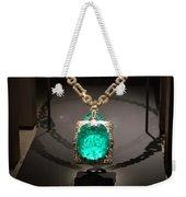 Emerald Prize Weekender Tote Bag