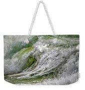 Emerald Storm Weekender Tote Bag