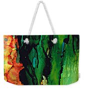 Emerald Waves  Weekender Tote Bag