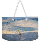 Emerging From The Valley Of Speed 16 X 9 Aspect Signature Edition Weekender Tote Bag