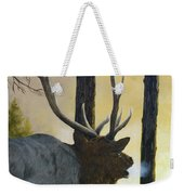 Emerging Monarch - Elk Weekender Tote Bag