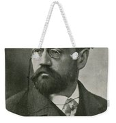 Emile Zola, French Author Weekender Tote Bag by Photo Researchers