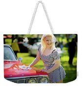 Emily #3 Royal Holden Weekender Tote Bag