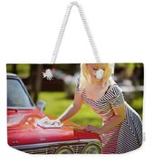 Emily #4 Royal Holden Weekender Tote Bag