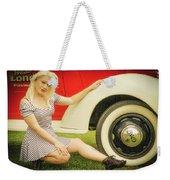 Emily #5 Royal Holden Weekender Tote Bag