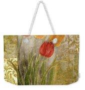 Emily Damask Tulips IIi Weekender Tote Bag