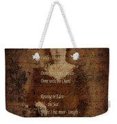 Emily Dickinson 4 Weekender Tote Bag