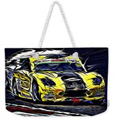 Emily Linscott On The Racetrack - Ginetta Junior Championship Weekender Tote Bag