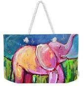 Emily's Elephant 2 Weekender Tote Bag