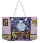 Emily's Tea Party Weekender Tote Bag