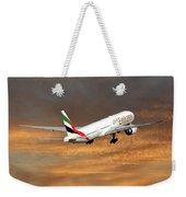 Emirates Boeing 777-36n 3 Weekender Tote Bag