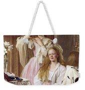 Emma And Federica Bankes Of Soughton Hall  Weekender Tote Bag