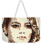 Emma Stone Weekender Tote Bag