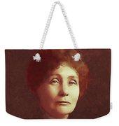Emmeline Pankhurst, Suffragette Weekender Tote Bag