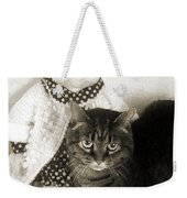 Emmy And Mrs Beasley Weekender Tote Bag by Andee Design