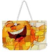 Emoticon Mosaic Cubism Weekender Tote Bag