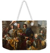 Emperor Charles Vi And Gundacker, Count Althann Weekender Tote Bag