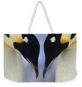 Emperor Penguin Family Weekender Tote Bag