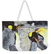 Emperors Of The Antarctic Weekender Tote Bag