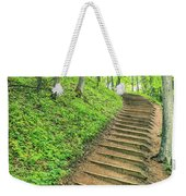 Empire Bluffs Trail Steps In Michigan Weekender Tote Bag
