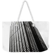 Empire State Building 1950s Bw Weekender Tote Bag
