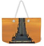 Empire State Building Esb Broadcasting Nyc Weekender Tote Bag