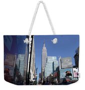 Empire State Of Mind In The Late Springtime Weekender Tote Bag