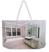 Empty Bathroom Weekender Tote Bag