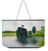Empty Blind - Use Red-cyan 3d Glasses Weekender Tote Bag