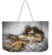 Empty Bottles And Discarded Pants Weekender Tote Bag