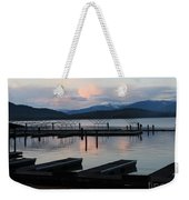 Empty Docks On Priest Lake Weekender Tote Bag