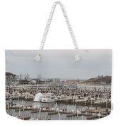 Empty Harbor Weekender Tote Bag