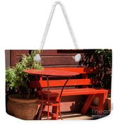 Empty Space For Two Weekender Tote Bag