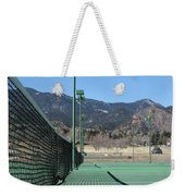Empty Tennis Courts Weekender Tote Bag