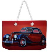 Emw Bmw 1951 Painting Weekender Tote Bag