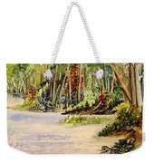 En Plein Air At Otter Falls Boat Launch Weekender Tote Bag