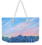 enchanced- Catching the SunSet Weekender Tote Bag